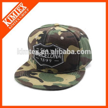 new fashion embroidery army style cap and hat camouflage flat brim baseball caps