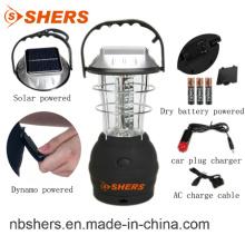 Lanterne solaire rechargeable LED 36PCS 2 modes d'éclairage