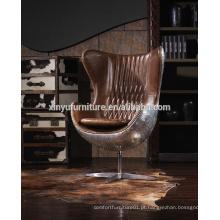 Cadeira de ovo giratória vintage fábrica A616