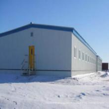 Entrepôt de structure métallique pour application industrielle