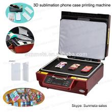 Sublimação celular caso / tampa da máquina de impressão