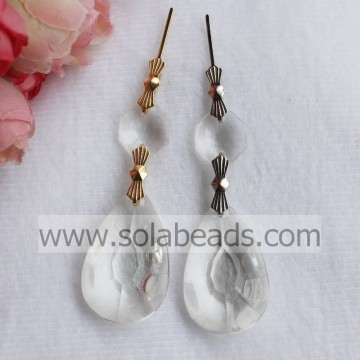 Top Sell 23*36mm Acrylic Bead Lamp Garland Pendant