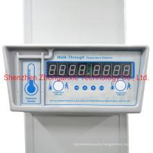 Walk Through Metal Detector Gate with Body Temperature Sensor and Fever Temperature