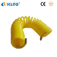 Tuyau en spirale de nylon de polyuréthane pneumatique de polyuréthane d'unité centrale 6mm