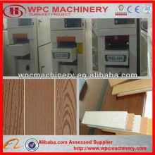 WPC lixadeira WPC de tratamento de superfície de plástico