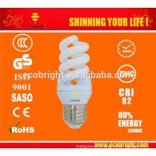 CHAUD! T3 11W Mini spirale pleine Energy Saving Lamp 10000H CE qualité