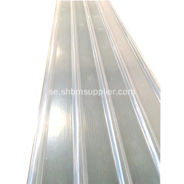 Anti-UV Transparent Glasfiber Corrugated FRP-ark