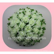 boule de mariage / pas cher artificielle rose remise boule de fleurs