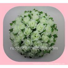 свадебные мяч / дешевые искусственные розы цветок мяч вручать