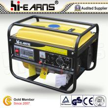 2kw tragbarer Benzingenerator mit gelber Farbe (GG2500)