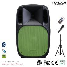 Heißer Verkauf 15 Zoll Plastik PA-Stadiums-Lautsprecher für Modell Em15ub