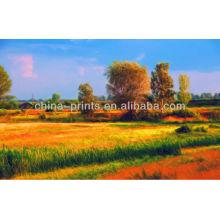 Пейзажная живопись Картина маслом известных мастеров