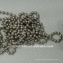 4.5 * 6mm Edelstahl Kugel Kettenvorhang Kette-Wulst Kugel Kettenvorhang Zubehör