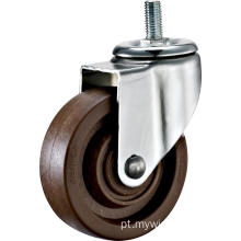 5 '' Thread Stem Rodízio de Alta Temperatura