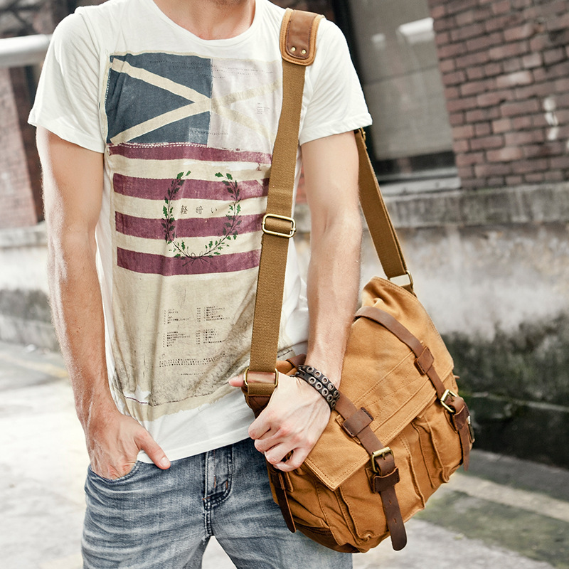Canvas Shoulder Bags 1
