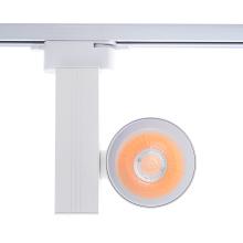 Luz de carril led remota de aluminio 3 cables