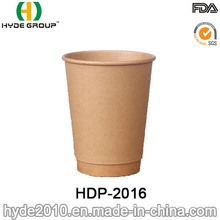 Brown Double Wall Kraft Coffee Paper Cup (HDP-2016)