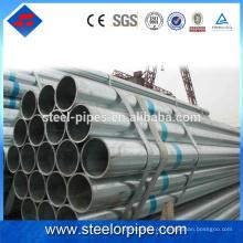 Produtos inovadores para vender sem costura 40 tubos de aço galvanizado