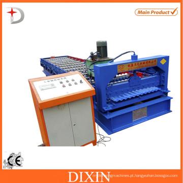 Máquina formadora de rolos de chapa ondulada