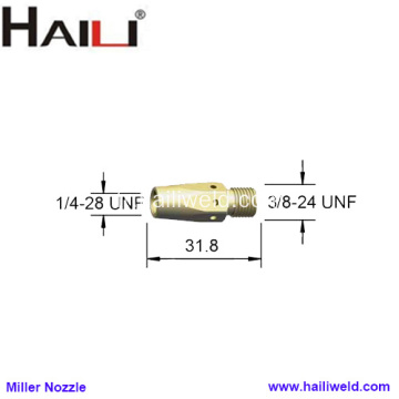 Miller Tip Adapter 169728 pour M25