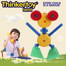 Naughty Frog Modèle DIY Education Toy Plastic Block Toys