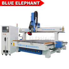 China Factory 2030 4 Axis CNC Wood Cutting Milling Machinery CNC Router with Straight Automatic Tool Changer for Wood Carving Plaque