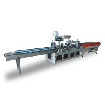 Automatic high speed L bar shrink wrapping machine