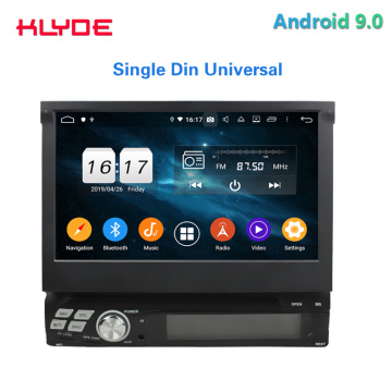 Universele Single Din Android Car DVD-speler