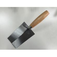 Briquetage truelle en acier au carbone manche en bois