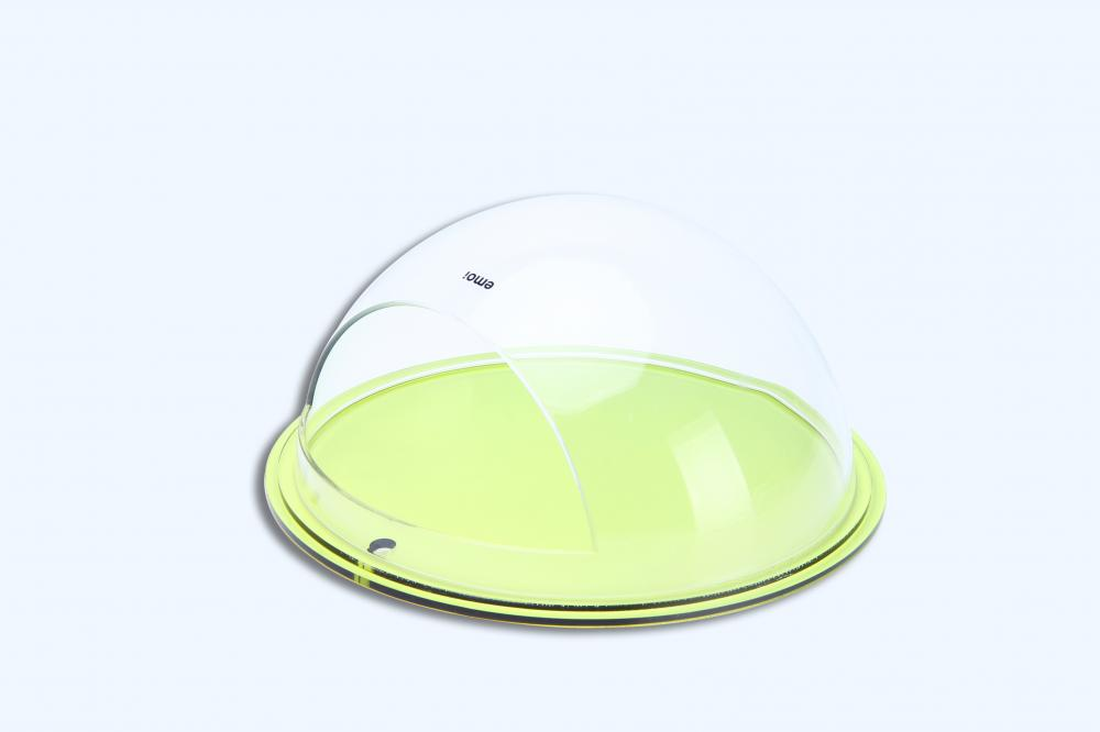 Round Acrylic Serving Trays
