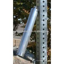 Tubo cuadrado perforado de acero de alta resistencia