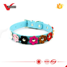 Female dog leather goods pet accessories S-L size
