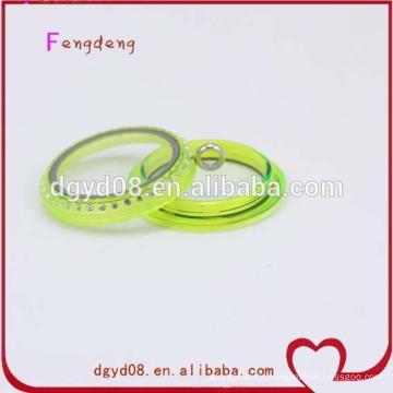 Acrylic jewelry glass locket manufacturer