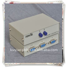 1 femelle 2 Female RS232 Port Grey Box Manuel Share Switch / RS232 SWITCH