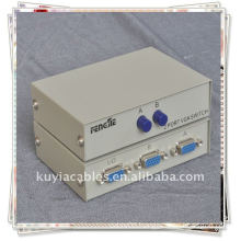 1 Female 2 Female RS232 Port Gray Box Manual Share Switch/RS232 SWITCH