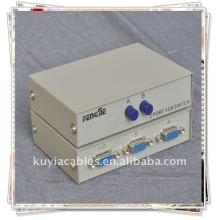 1 fêmea 2 fêmea RS232 porta cinza caixa manual Share Switch / RS232 SWITCH