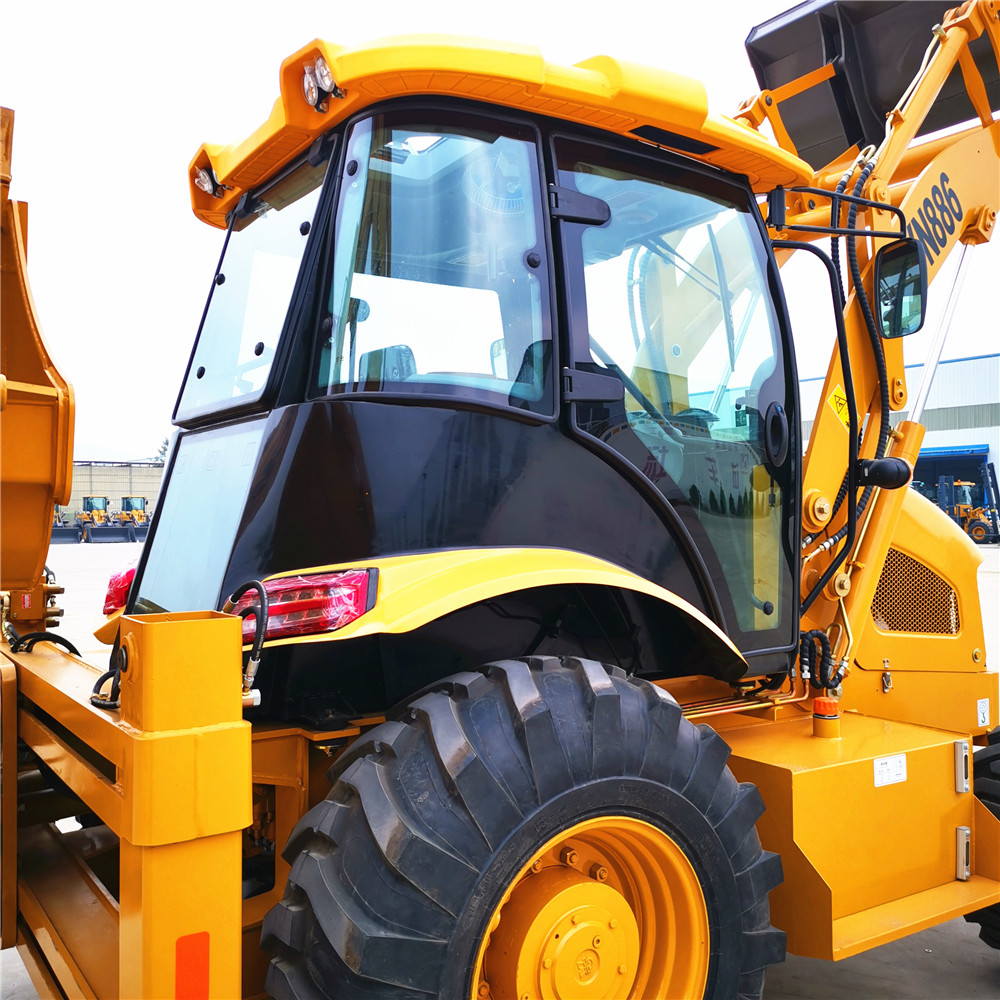 Yn886backhoe Wheel Loader 9