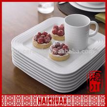Pizza stone plate/ceramic pizza plate forbbq