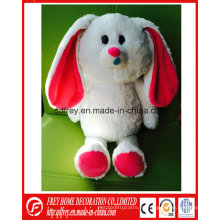 Conejo de peluche lindo / juguete del conejito para el día de Pascua