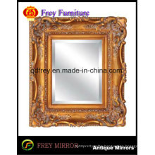 Ornate Hand Carved Wooden Mirror/ Picture Frame