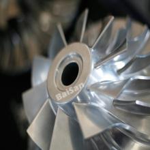 CNC que mói o impulsor de alumínio de titânio da roda do compressor