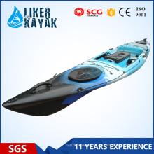 Liker Angler Serie 4.3m Fischerboot sitzt auf der Oberseite könnte mit einem Motor hinzugefügt werden, um Ihre Hände frei zu machen