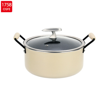 Set Aluminium Marble Coating Fry Pan