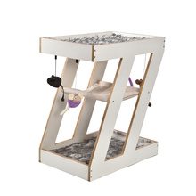 Multilayers Hanging Bed Design Modern And Unique Design Cheap Wooden Cat Tree Tower