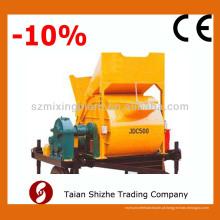 JDC 500 Horizontal Single-shaft Concrete Mixer, betão misturador