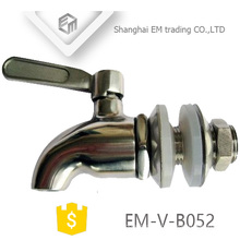 EM-V-B052 Robinet de bibcock de bière en acier inoxydable de polissage