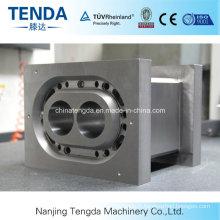 Baril de vis d'extrudeuse en plastique de Nanjing Tengda avec un rendement élevé