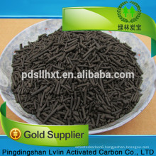 The water used to wash the car repurifies and reuses activated carbon
