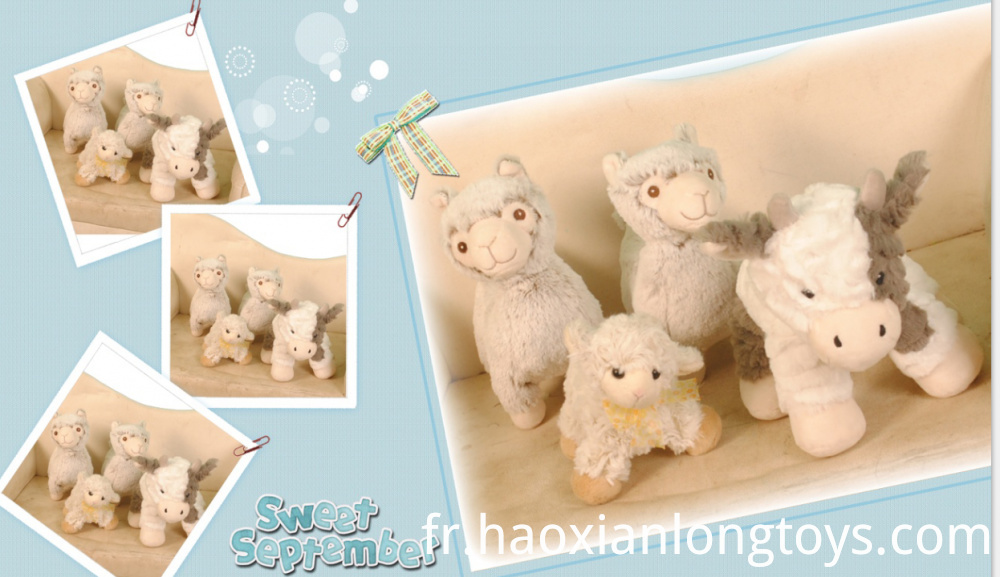 Cute little sheep doll.