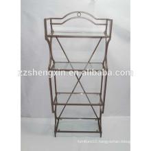 Metal Goods Shelf, Wrought Iron Shelf